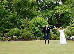 Wedding Photographer, Garvock House Fife
