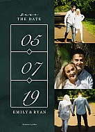 Example Save the Date Card