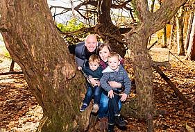 Autumn Family Shoot, Larbert