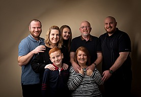 Family Photoshoot, Larbert