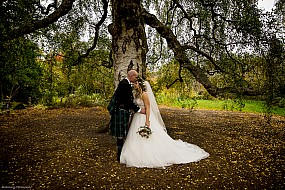Wedding Photography, Royal Botanic Gardens Edinburgh