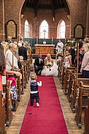 Wedding Photography, Christ Church, Linton