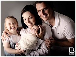 Baby Girl with Family