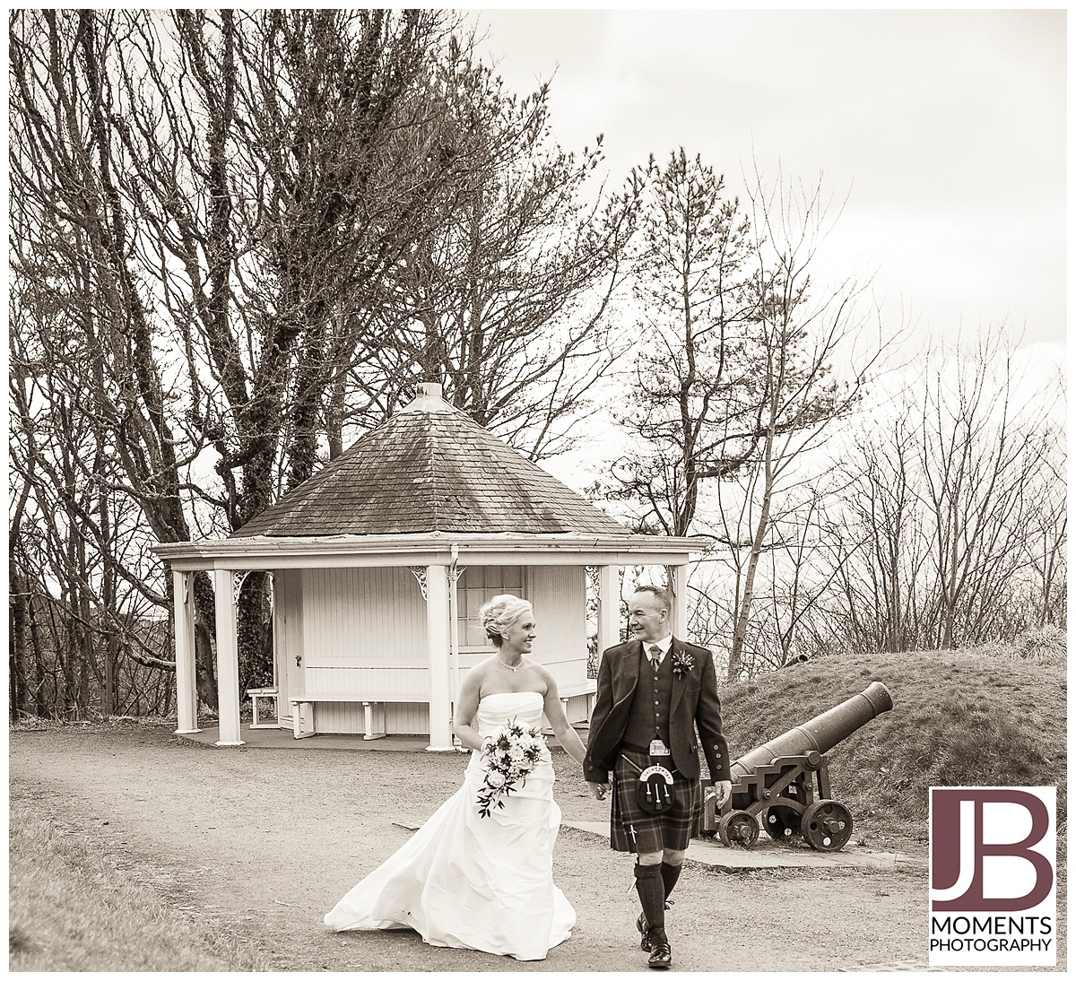 Mast House at Culzean Castle. Wedding photography by JB Moments Photography