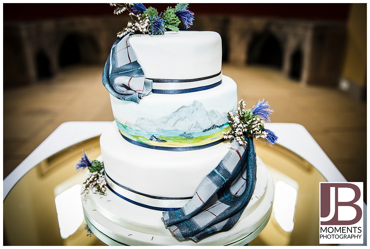 Georgian Kitchen wedding reception at Culzean Castle