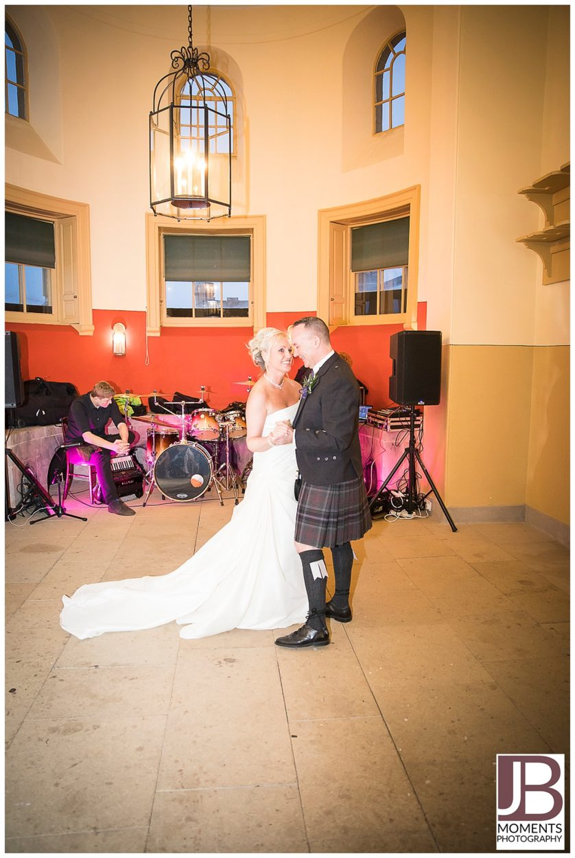 Georgian Kitchen wedding reception at Culzean Castle