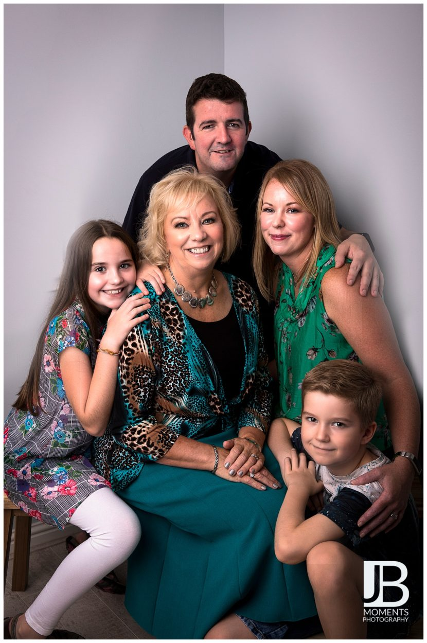 Family photographer in Larbert - JB Moments Photography