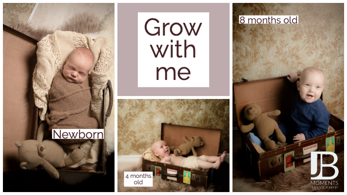 baby photographer near Stirling - JB Moments Photography