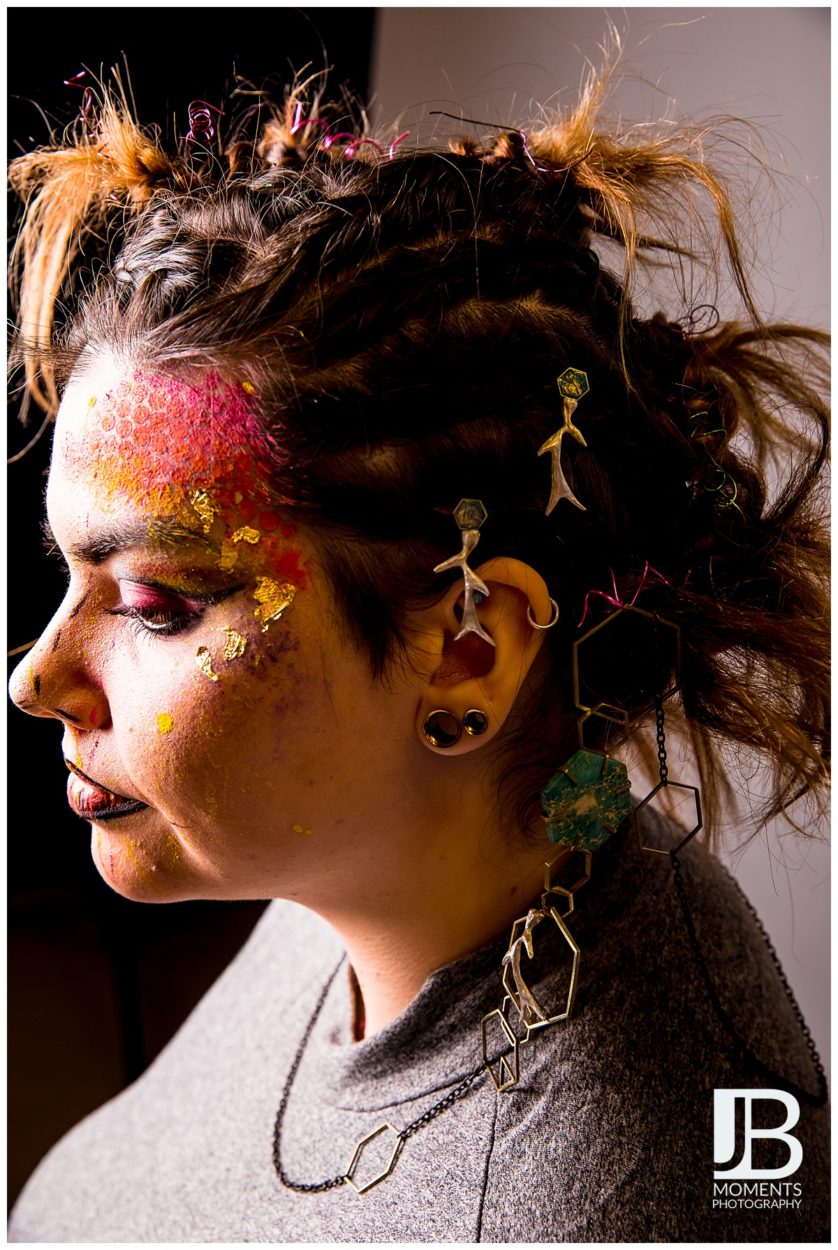 Jewellery Photography at Fife College