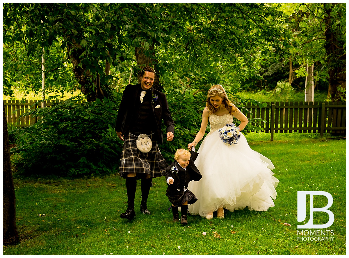 Edinburgh Wedding Photographer - JB Moments Photography