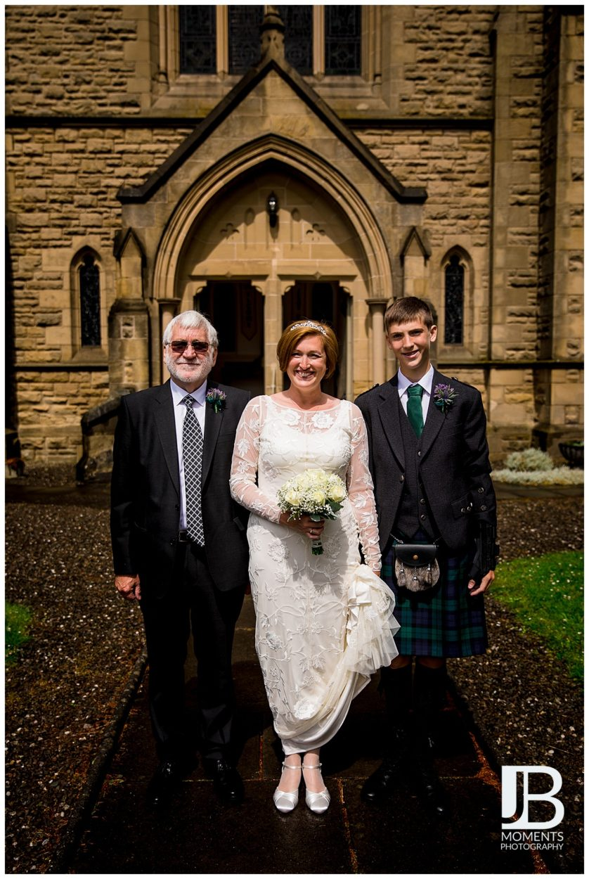 Wedding photographer in Falkirk - JB Moments Photography