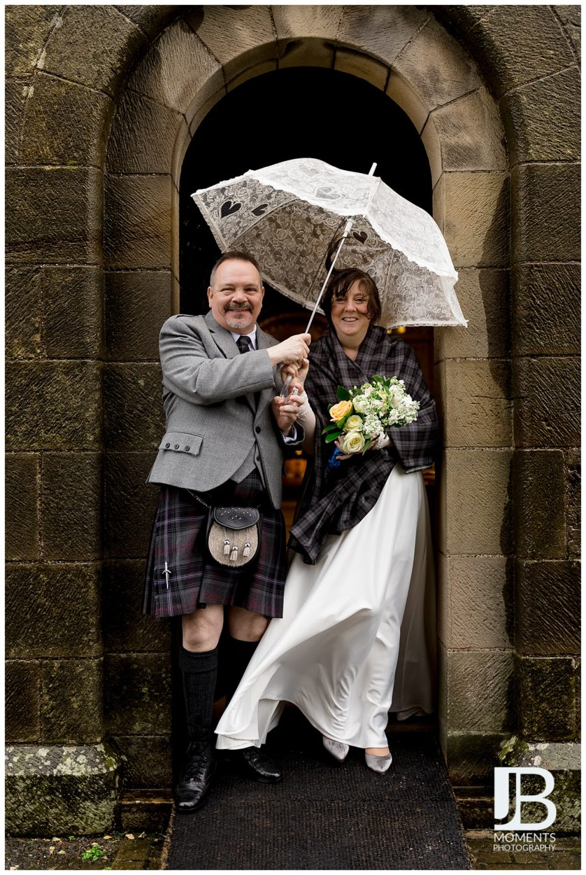 Wedding at Dalmeny Kirk by JB Moments Photography