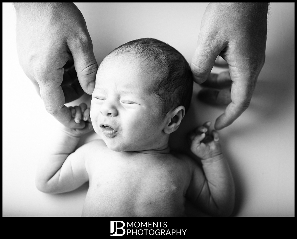Baby photography by JB Moments Photography